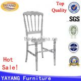 Hot sale cheap price restaurant clear resin napoleon chair transparent hotel furniture