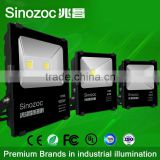 Sinozoc IP66 LED Flood Light 30w 50w 100w LED Outdoor Floodlighting Wall Park Industrial advertisement lighting