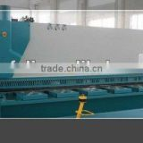 CNC Hydraulic shearing machine, metal plate cutting machine, aluminium guillotine shearing machine