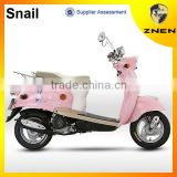 ZNEN 2016 Popular small 49cc gas vespa scooter with strong and beautiful scooter wheel