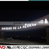 waterproof IP68 CE FCC approved used outdoor lighted signs
