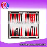 Educational toy backgammon chess board game