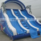Blue water slide inflatable water slides rentals