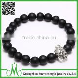 Fashion matt onyx bead bracelet best selling products 8mm bead bracelet for men black onyx bracelet