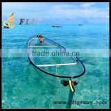 Transparent Plastic Clear Canoe Ocean Kayak