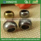 metal round cord end stopper clothing