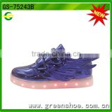 Hot selling china led light up kids shoes