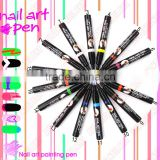 Wholesale Manicure Tool Supplies 3D Carved Paint Pen UV Gel Acrylic Nail Art Polish Nail Art Pen-SO-125
