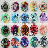 Shabby Chiffon Flower, Hair Bands For girls Children Accessories, beautiful chiffon lace flower