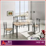 1402-4B malaysia antique dining furniture / dining room furniture sets / restaurant dining table and chair