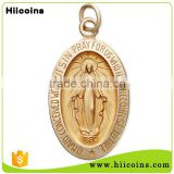 Customized Wholesale Manufacturer Metal Miraculous Medal                                                                         Quality Choice