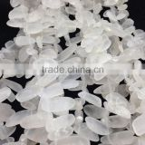 Wholesale natural matte,dull polished,frosted crystal quartz gemstone strand for jewellery decorate