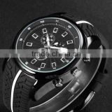 Cool deisgn car watch tire strap sport watch