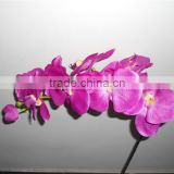 new wedding favor twelve heads artificial butterfly orchids flowers stand