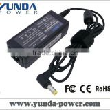 YUNDA Brand New laptop charger for Dell 30w 19V 1.58a fit Dell mini notebook/5.5mm*1.7mm
