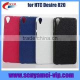 genuine leather back cover for HTC desire 820 case