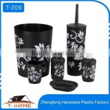 wholesale bathroom accessories set with flower design                                                                         Quality Choice