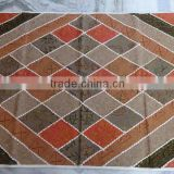 Wall hanging tapestry , wall art from Zari work patchwork , Hand embroidery India
