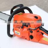 Orange color gasoline chain saw 5200 oil chain saw chainsaw manafacturer