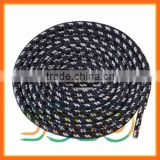 YoYo New Arrivial Skate Shoelaces Print Round Shoelaces Braided Shoe Laces Custom Shoe Laces