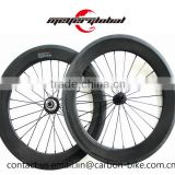 "MeyerGlobal 20"" 406 BMX Bike Carbon Fiber Clincher Rims 50mm wheel set with powerway R13 hub"