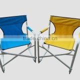 Fashional colorful aluminum folding director chair