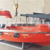 Solas standard marine frp open type fast rescue boat lifeboat