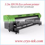 3.2m Xenons X8126 Eco Solvent Printer, Flex Banner Printer with Double DX7 Print Head