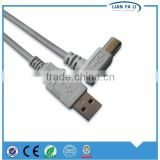 cheap and fine usb A male to usb B male cable micro usb printer cable usb shielded high speed cable 2.0