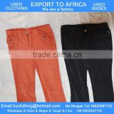All Seasons Used Clothing from China for second hand clothes buyers of lady cotton pants