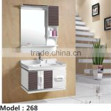 professional bathroom product the whole bath cabinet pvc bathroom accessory made in china