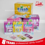 2015 Fresh Breath Fruit Paper Candy Mint Strips Candy                                                                         Quality Choice