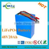 48v 1000w electric bike battery 20Ah lithium battery high discharging current big power