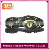 2016 High Quality Mens Spike Golf Shoe Sole With Removable Screw Studs Multi Colors And Sizes