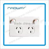 Wall Switch Wholesale Double Wall Switch With 2 Pole Socket