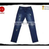 New women Branded ripped Jeans, Fashion wash women Jeans Classic Brand Men's Jeans women