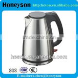 hotel and restaurant supplies unique designed electrical appliance stainless steel electric water kettle pot