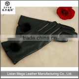 2015 Good Quality New masonic leather gloves