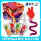Halal gummy candy hand shaped gummy candy