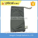 2015 promotional custom logo printed microfiber eyeglasses soft cleaning pouch                                                                         Quality Choice