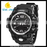 WJ-5445 digital and quartz double show fashion water resistant Ohsen brand outdoor watches
