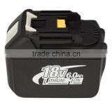 battery for makita BL1860 replacement 18V 6000mAh BL1860 LXT Li-Ion Compact Battery power tool battery
