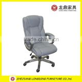 2015hot selling high back no folding fabric office chair,new design factory luxury fabric chair