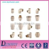 Equal Shape and Round Head Code CPVC Pipe Fittings