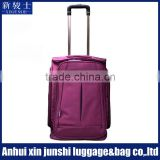 Oxford Nylon Trendy Boarding Sky Travel Luggage Bag Trolley Bag