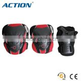 Action gear set for ADULT bicycle skate knee pad elbow pad