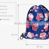 China carry fashional non woven drawstring shoe bag, wholesale cotton fabric drawstring bag