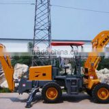 Mini wheel loader with backhoe machine gold digger                                                                         Quality Choice