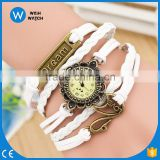 lovely Dream Swan pendant girls dress accessories bracelet fashion wristwatches Vintage Quartz watch casual Watches VW008