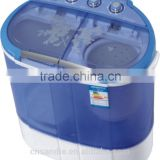 twin tub semi automatic with dryer equipment baby clothes mini portable electrolux washing machine dryer                                                                         Quality Choice